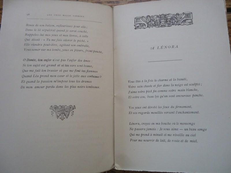 Detalles De Rare Onze Mille Vierges Houssaye Eo 1885 Alfred Mousse Baudelaire Poeme Prose
