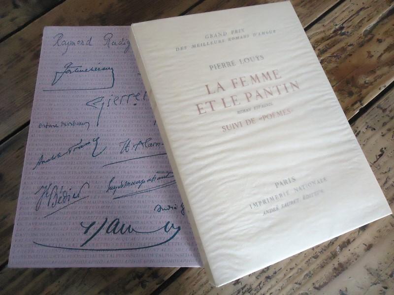Details About Litterature Eo N Imprimerie Nationale Ma Femme Et Le Pantin Pierre Louys Poemes